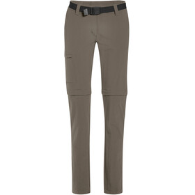 Maier Sports Inara Slim Zip Off Pants Women Long teak